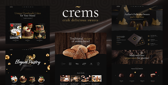 Crems Bakery, Chocolate Sweets & Pastry