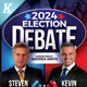 Election Debate Flyer & Poster Templates - GraphicRiver Item for Sale