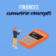 Finances - Isometric Concept - VideoHive Item for Sale
