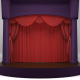 THEATER SCENE WITH RED CURTAINS - 3DOcean Item for Sale