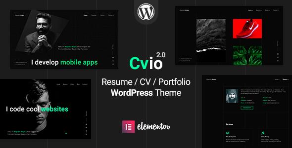 Cvio - CV/Resume Theme