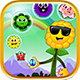 Bubble Shooter Unity Asset Reskin: Blossom Journey - GraphicRiver Item for Sale