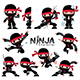 Ninja Character - GraphicRiver Item for Sale