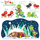 The Ant and the Grasshopper - GraphicRiver Item for Sale