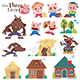 The Three Little Pigs - GraphicRiver Item for Sale