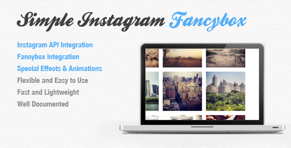 Simple Instagram Fancybox