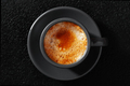 Espresso Coffee on the Black Table - PhotoDune Item for Sale