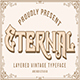 Eternal Layer Vintagge Typeface - GraphicRiver Item for Sale