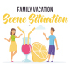 Family vacation - Scene Situation - VideoHive Item for Sale