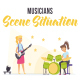 Musicians - Scene Situation - VideoHive Item for Sale