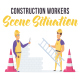 Construction workers - Scene Situation - VideoHive Item for Sale
