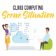 Cloud computing - Scene Situation - VideoHive Item for Sale