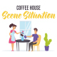 Coffee house - Scene Situation - VideoHive Item for Sale