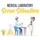 Medical laboratory - Scene Situation - VideoHive Item for Sale