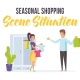 Seasonal shopping - Scene Situation - VideoHive Item for Sale