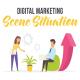 Digital marketing - Scene Situation - VideoHive Item for Sale