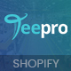TEEPRO - T-shirt Printing And Dropshipping Shopify Theme - ThemeForest Item for Sale