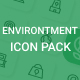 Environment Icon Pack - GraphicRiver Item for Sale