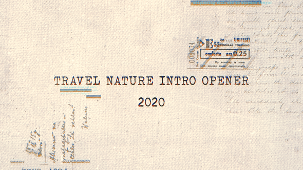 Travel Nature Intro Opener