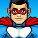 Superhero Logo - GraphicRiver Item for Sale