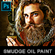 Smudge Oil Paint - Photoshop Action - GraphicRiver Item for Sale