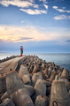 Lighthouse at sunset. - PhotoDune Item for Sale