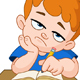 Bored Schoolboy - GraphicRiver Item for Sale