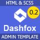 Dashfox - Dashboard HTML Template - ThemeForest Item for Sale