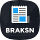 Braksn - News Magazine HTML Template - ThemeForest Item for Sale