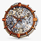 Clock Mechanism With Gears v 2 - 3DOcean Item for Sale