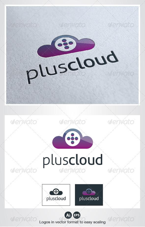 Plus Cloud Logo