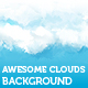 Web 2.0 Incorporated Clouds Background - GraphicRiver Item for Sale
