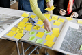 Cropped image of business people strategizing with sticky notes in office - PhotoDune Item for Sale