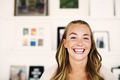 Portrait of young woman smiling - PhotoDune Item for Sale
