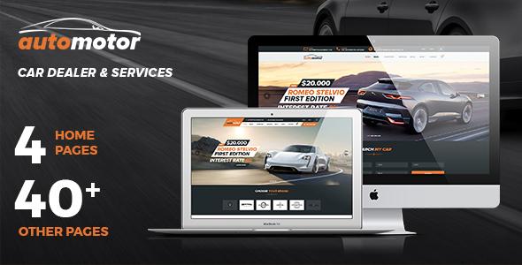AutoMotor | Car Dealer & Services Joomla Template