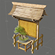 Japan Garden Gate Bonsai Traditional - 3DOcean Item for Sale
