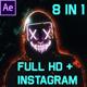 Cyberpunk Glitch Freeze Frame - VideoHive Item for Sale