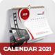 2021 Desk Calendar - GraphicRiver Item for Sale