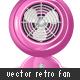 Retro Fan 01 - GraphicRiver Item for Sale