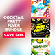 Cocktail Party Flyers Bundle - GraphicRiver Item for Sale