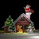 Christmas Santa Claus Home Handmade - 3DOcean Item for Sale