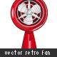 Retro Fan 02 - GraphicRiver Item for Sale