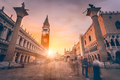 San Marco square in sunset light. Venice, Italy - PhotoDune Item for Sale