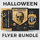 Halloween Flyer Bundle V9 - GraphicRiver Item for Sale