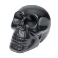 Black human skull - PhotoDune Item for Sale