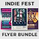 Indie Fest Flyer Bundle - GraphicRiver Item for Sale