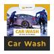 Car Wash Rack Card DL Flyer - GraphicRiver Item for Sale