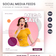 Fashion Social Media Kit Instagram Facebook Sales Post Feed - GraphicRiver Item for Sale