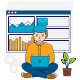 Concept of Businessman Analytics Data - GraphicRiver Item for Sale