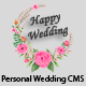 Happy Wedding - Personal Wedding & Invitation CMS - CodeCanyon Item for Sale